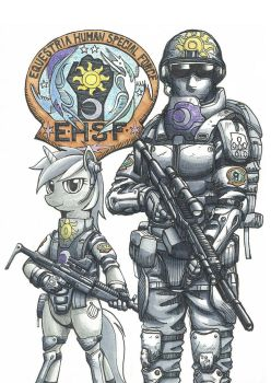 Equestria Human Special Force by george5408