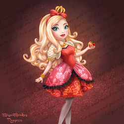 Ever After High Apple White by Mig515