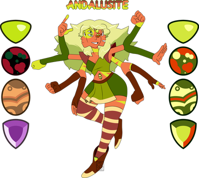 Fusion Comm- Andalusite by XombieJunky