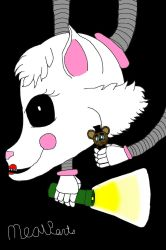 Mangle In The Dark by MrMeowpants