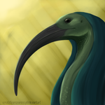 Thoth Speedpaint by erratictransparency