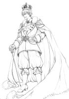 Awesome Royal Prussia -outline by MizuSasori
