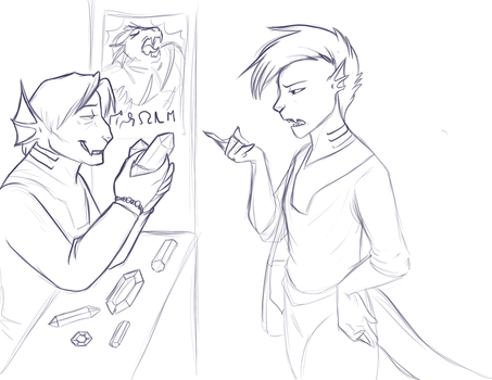 Haggling by Foxenawolf