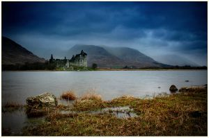 Kilchurn Castle, Scotland by ArwensGrace