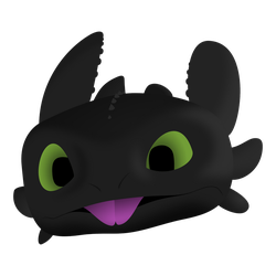 Toothless by The-Intelligentleman