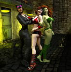 Gotham City Sirens by DexPac