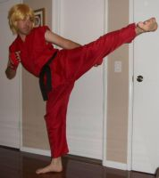 Ken Masters Cosplay 2 by IronCobraAM