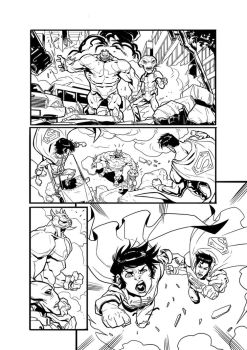 Superman and Son (Test Page) - page 3 by darnof