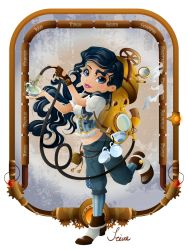 Steampunk Zodiac - Aquarius by iGlacial
