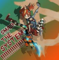 Smash the System by juanrock