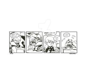 Tom and Walley Comic Strip 1 by Polartech