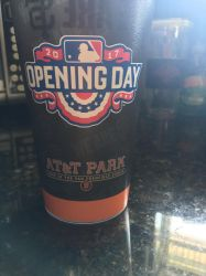 Official SF Giants opening day week cup side 2!! by sfgiants58