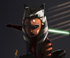 Ahsoka on the prowl by Montano-Fausto