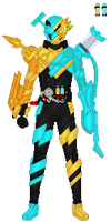 Kamen Rider Build LionCleaner by TerranMarine117
