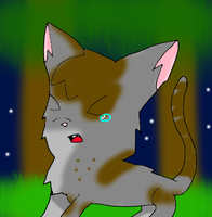 Tawnypelt's Call to StarClan by CyanDraggon