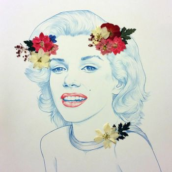 Marilyn by aaampersand