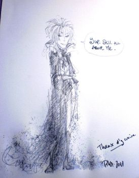 Trolling Goblin King scribble by Pika-la-Cynique
