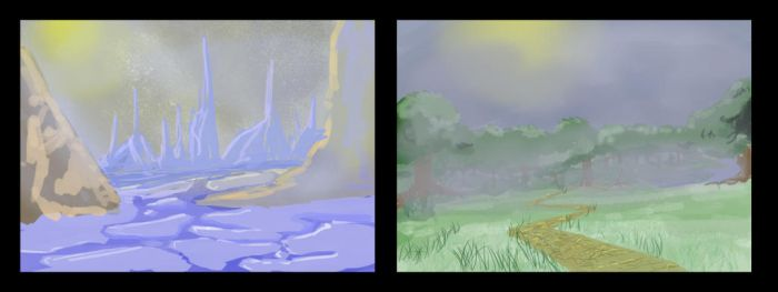 Speed Painting Practice by UpcoRaul