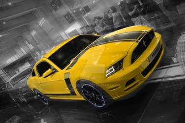 Ford Mustang Boss 302 by melon1992