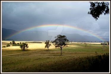 Somewhere over the rainbow by jodi-hargraves