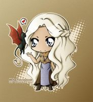 the mother of dragons by lelechan16