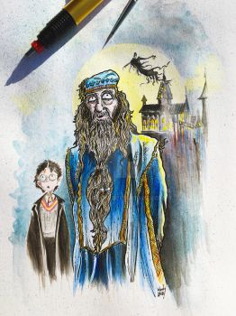Dumbledore by Nephellim