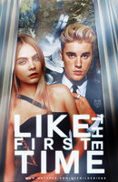 Like the first time | Wattpad cover by LoeBiebs