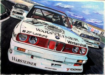 BMW M3 E30 DTM by schemeck