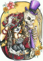 Beads and Bones by SoleiBee