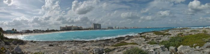 Cancun Beach by TinaCaper