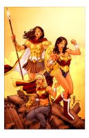 Wonder Women by Thegerjoos by StephenSchaffer