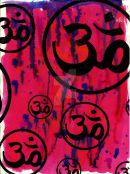 Om by CaraLeighArt