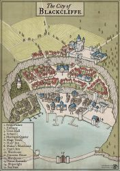 The City of Blackcliffe by DanielHasenbos