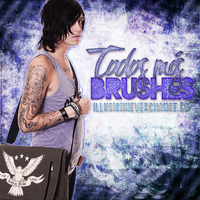 Todos mis brushes. by IllusionNeverChange