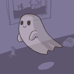 A Ghost! by artistdude88