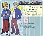 Told- Victor (alive and as a ghost) ref by Furresoto