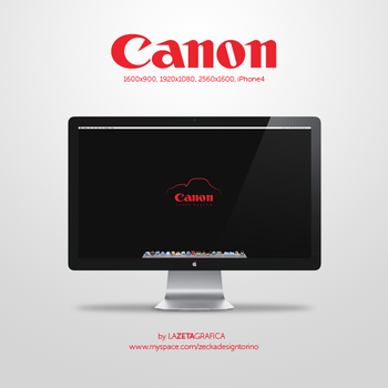 Wallpaper Canon by redsoul90