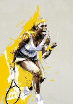 Serena Williams by neo-innov