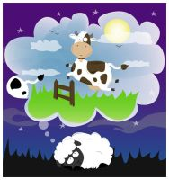 Counting Cows by ysellyra