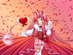 Magical Girl of Valentine's Day by ElynGontier