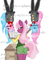 Learning with Cheerilee (commission) by Reimon-Master-II