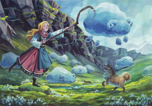 CloudSheep final by Biffno