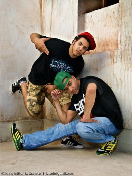 b-boys in d-town 001 by jefrigerator