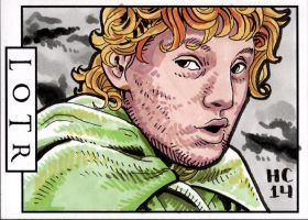 Sketchcards - LOTR - Samwise by hamdiggy