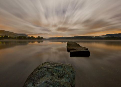 Loch Ard in the Gloaming by BusterBrownBB