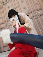 Inuyasha - mother and son by WhiteRavenCosplay