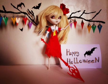 Flandre Scarlet cosplay Doll Halloween by Tenori-Tiger