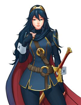 Lucina commission by louten