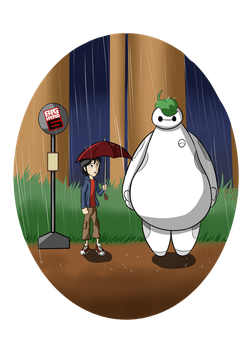 BIG HERO 6 - TOTORO by SRProductions