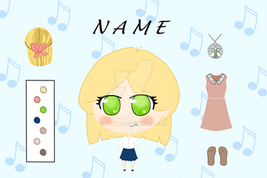 Chibi Rhyme Ref by Comux